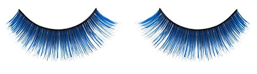 Zinkcolor Cobalt Blue False Synthetic Eyelashes E022 Dance Halloween Costume