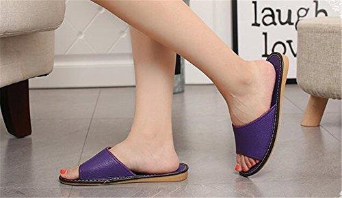 Femme Women Purple Chaussons pour TELLW pqnxTZn