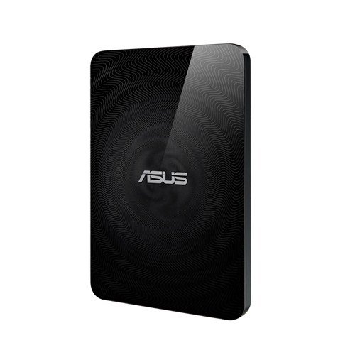 Asus Wireless Hard Drive and SD Card Reader OneTouch NFC - WHD-A2/1TB/BLK/13/P_UK