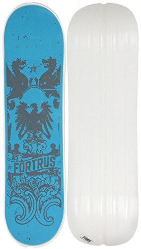 Fortrus Kingdom Snow Skate Snowboard Deck, White, 35'' by Fortrus
