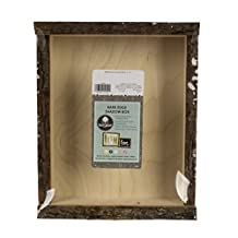 Walnut Hollow 41202 Natural Bark Edge Shadow Box For Arts, Crafts & Home Decor, Large