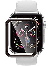 شاشة حماية بالكامل مناسبة لغشاء ساعة أبل البلاستيكي 44 ملم ساعة اي واتش 4 جيل 3/4/5 غشاء بلاستيكي سلسة 4 تغليف ثلاثي الابعاد بغشاء بلاستيكي مقوى