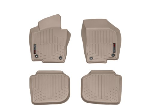 WeatherTech First and Second Row FloorLiner (Tan) by WeatherTech