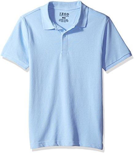 light blue polo shirt - 8