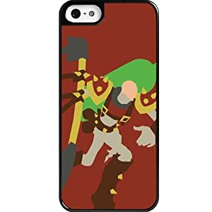 Custom personalized Protective Case for iPhone 5 - Game League of Legends LOL Singed