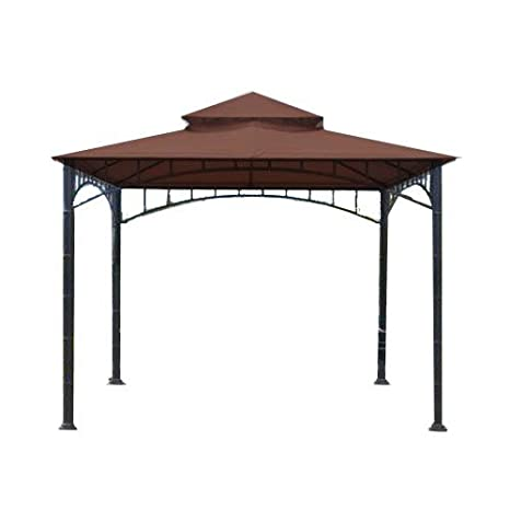 Garden Winds Replacement Canopy for Summer Veranda Gazebo Models L-GZ093PST, G-GZ093PST, (WILL NOT FIT ANY OTHER FRAME), Beige
