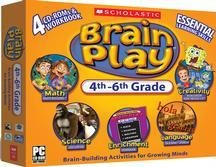 Scholastic Brain Play 4th -6th grade (Large Box)