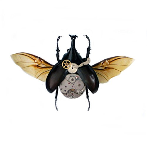 Real Steampunk Beetle Insect Taxidermy Art- Taxidermy Gifts, Gifts For Him, Steampunk Gifts For - Him For Gifts Steampunk