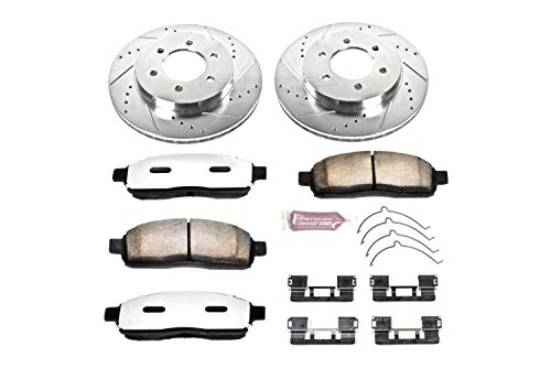 - Power Stop K1943-36 Front Z36 Truck and Tow Brake Kit