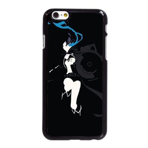 R5Y78 Black Rock Shooter Y1I1LF coque iPhone 6 4.7 pouces Cas de couverture de téléphone portable coque noire WX3DUV5EZ