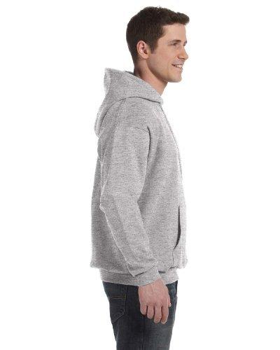 Adult Comfortblend Hooded Pullover - Hanes ComfortBlend EcoSmart Pullover Hoodie Sweatshirt_Light Steel_2XL