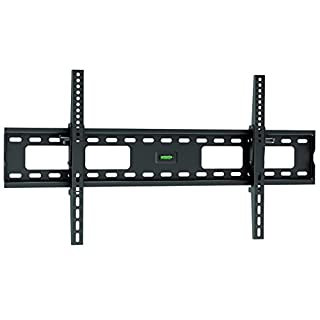 """Ultra Slim TV Wall Mount Bracket for Samsung UN65NU6300 With Low Profile 1.7"""" fom Wall - 12° Tilt Angle - Reduced Glare!"""