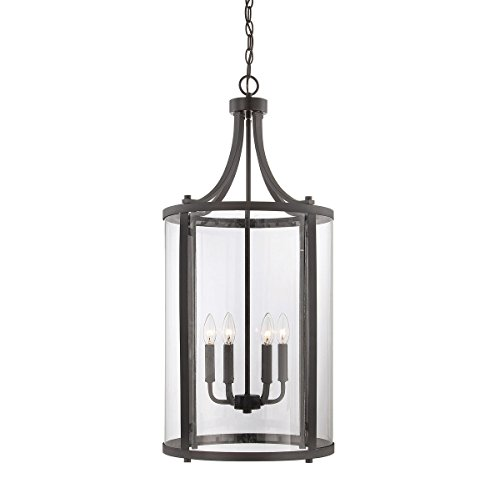 Savoy House 7-1041-6-13, Penrose 6-Light Medium Foyer Lantern, English Bronze (Six Light Lamp Foyer)