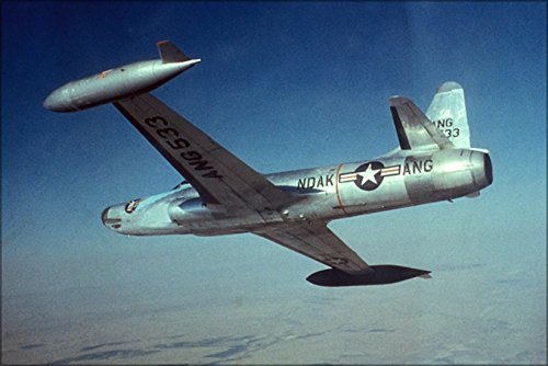 42x63 Poster; Air Force F-94 Starfire Fighter North Dakota Air National Guard (North Dakota Air National Guard)