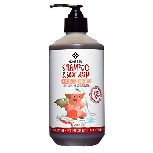 Alaffia - Everyday Coconut Shampoo and Body Wash, Babies and