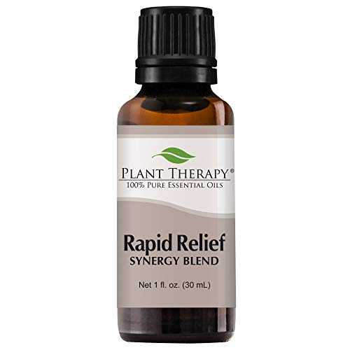 Rapid Relief Synergy . Essential Oil Blend. 30 ml . 100% Pur
