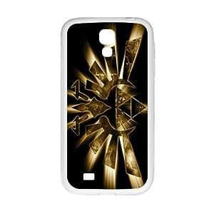 SKULL Shinign Golden Logo Hot Seller Stylish Hard Case For Samsung Galaxy S 4 hjbrhga1544