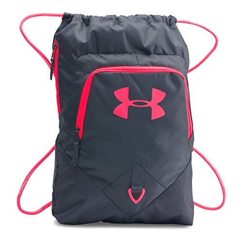 Under Armour Undeniable Sackpack, Stealth Gray /Pink Chroma, One Size