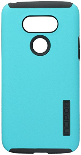 Incipio Cell Phone Case for LG G5 - Retail Packaging - Turquoise/Charcoal
