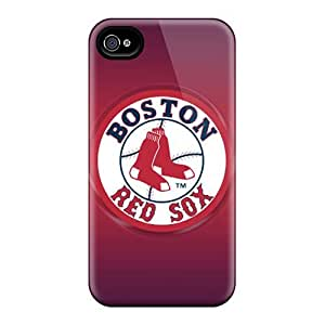 CharlesPoirier Iphone 4/4s Shock Absorbent Hard Phone Case Custom HD Boston Red Sox Image [lJD18653zRdG]
