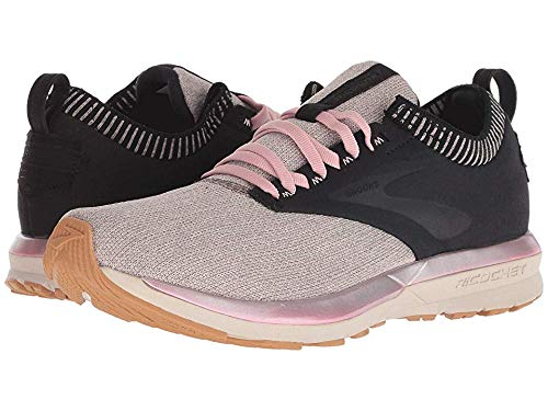 Brooks Women's Ricochet Black/Tan/Pink 8.5 B US