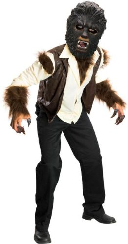 Deluxe Wolfman Child Costume - Large