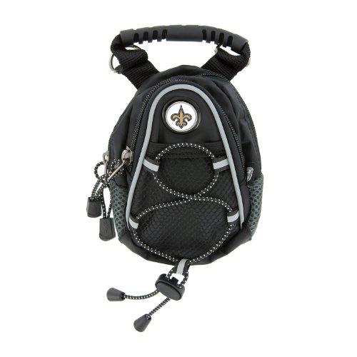 NFL New Orleans Saints Black Mini Day Pack, Outdoor Stuffs