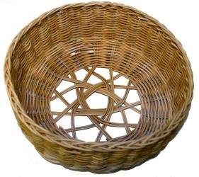 Round Reed Basket (Five Pointed Star Basket Kit)