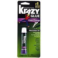 Krazy Glue KG58848R Instant Crazy Glue Color Change Formula Tube 0.07-Ounce by Krazy Glue