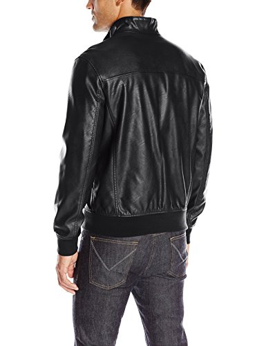 Tommy-Hilfiger-Mens-Smooth-Lamb-Faux-Leather-Unfilled-Bomber-Jacket