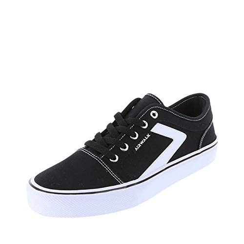 Airwalk Black White Men's Rieder Pro Sneaker 11.5 Regular
