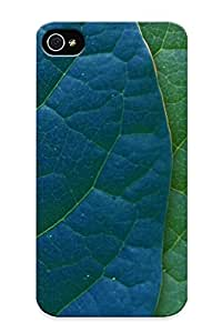 Hot Jgomqt-7383-fjczuhz Case Cover Protector For Iphone 4/4s- Multicolor Leaves Spectrum Creative / Special Gift For Lovers
