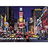 : Ravensburger Glow in the Dark 1000 Piece Puzzle - Times Square