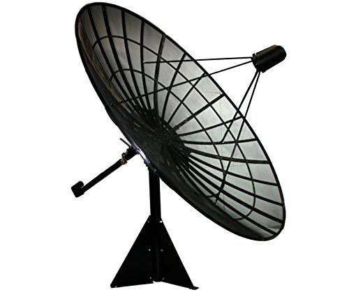 Motorized C/Ku Band Mesh Satellite Dish Package (10ft)