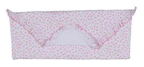 - Kissy Kissy Baby-Girls Infant Rambling Roses Receiving Blanket-Pink-One Size