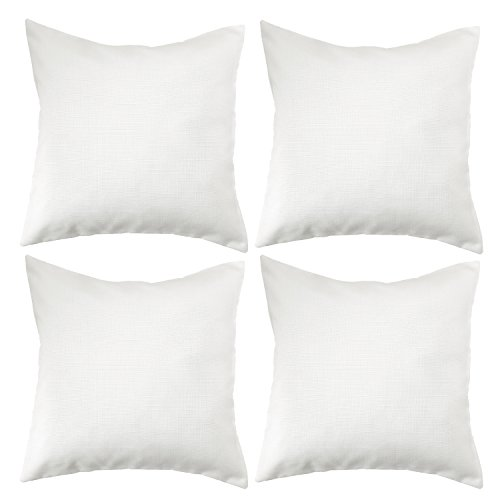 Deconovo Soft Cushion Covers Faux Linen Pillow Covers Throw