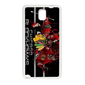 SKULL Chicago blackhawks Phone Case for Samsung Galaxy Note3
