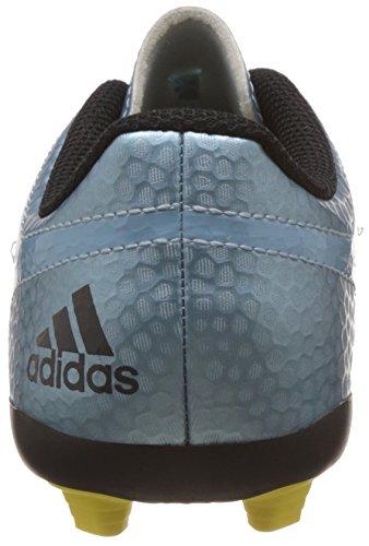 adidas Messi15.4 FG/AG, Unisex-Kinder Fußballschuhe Blau (Matt Ice Met.F12/Bright Yellow/Core Black)