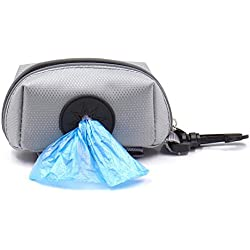 TTnight Dog Poop Bag Holder Waste Bag Dispenser Leash Attachment for Walking Running Travel Hiking Accessory (Poop Bag isn't Included)