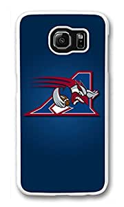 Galaxy S6 Case, S6 Cases, Custom Montreal Alouettes Galaxy S6 Bumper Case [Scratch Resistant] [Shock-Absorbing] Hard Plastic White Protective Cover Cases for New Samsung Galaxy S6