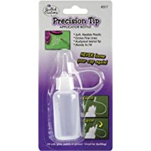 Quilled Creations Precision Tip Glue Applicator Bottle, 0.5-Ounce