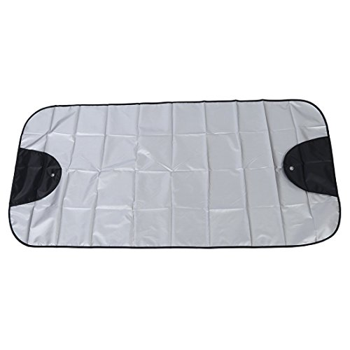 Car Windscreen Cover - TOOGOO(R)Car Windscreen Cover Winter Anti Snow Frost Ice Shield Dust Protector Sun Shade ()