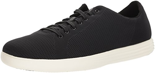 Cole Haan Men's Grand Crosscourt Knit Sneaker, Black Knit, 11.5 Medium US