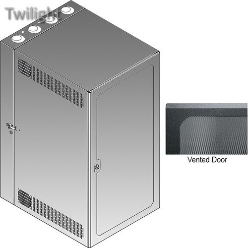 (Middle Atlantic CWR Series 18-22VD Cabling Wall Mount Rack with Vented Front Door)
