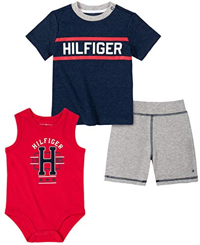 Tommy Hilfiger Baby Boys' 3 Pieces Shorts Set