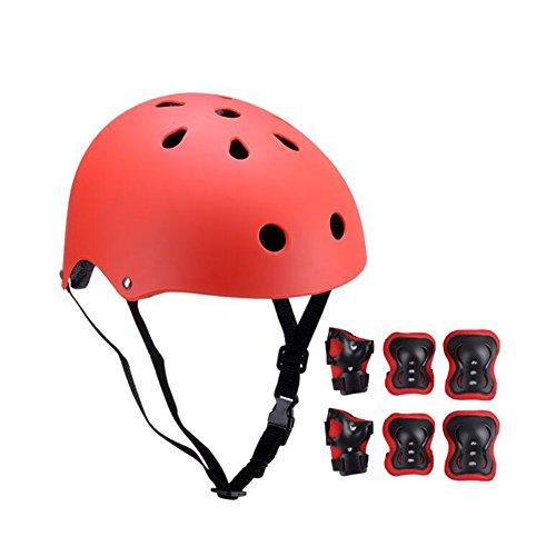 WX xin Roller Équipement De Protection Enfant Casque 7 Pièces/Ensembles BMX Cyclisme Planche À Roulette Patinage Sur Glace Genouillères Ensemble