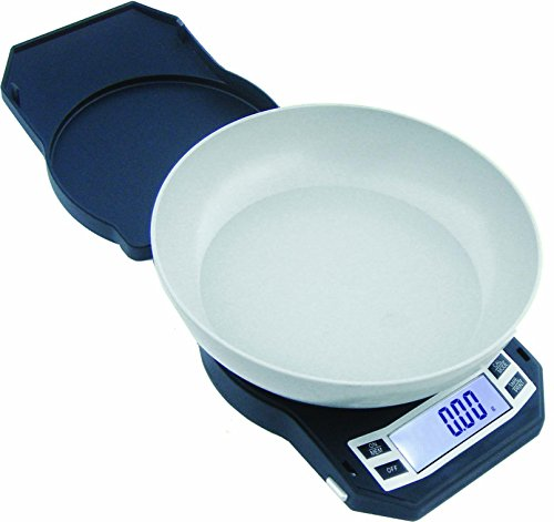 American Weigh Scales LB Series Precision Digital Kitchen Weight Scale, Gray 500 x 0.01G (LB-501)