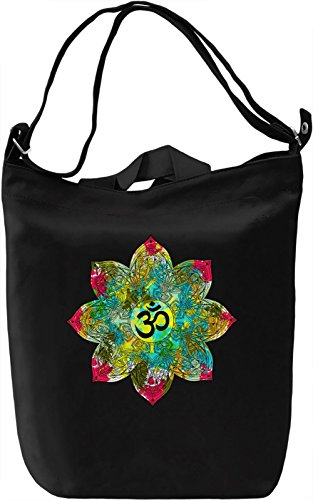 Fresh Mandala Borsa Giornaliera Canvas Canvas Day Bag| 100% Premium Cotton Canvas| DTG Printing|