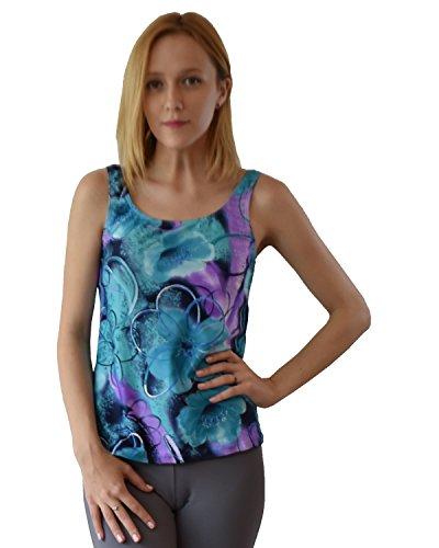 Private Island Hawaii UV Women Tankini Top Under Bra (X-Large, Jade - Island Fashion