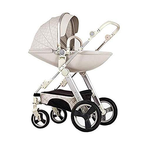 Travel Pushchair Kid Pram Baby Stroller High Landscape Baby Carriage Stroller for Newborn,b